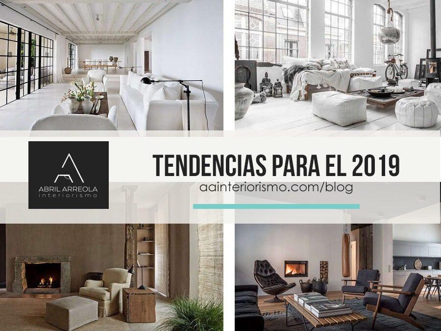 tendencias de diseño interior para el 2019
