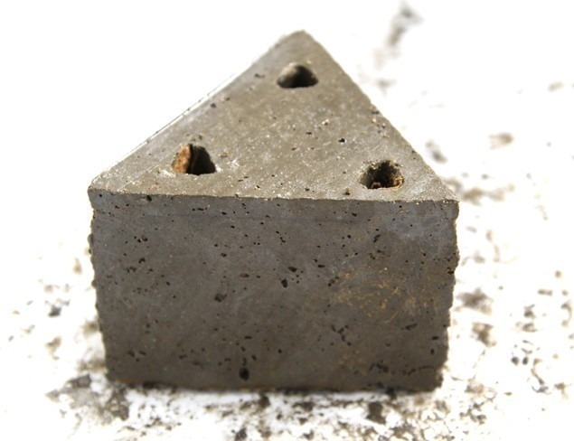 macetas modulares - con suculentas - desmoldada